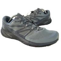 Salomon Sense Ride 2 Mens Size 12 Gray Athletic Hiking Running Shoes Sneakers