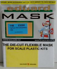 Eduard 1/48 EX090 canopy masque pour le hasegawa hawker typhoon (bulle canopy)