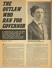 "Al Jennings ""The Outlaw Who Ran For Governor""+Genealogy"