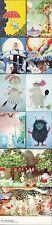 Moomin Muumi Tove Jansson Finland Postcards 10 Mint