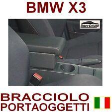 BMW X3 - BRACCIOLO CON PORTAOGGETTI per-vedi anche tappeti auto gomma e velluto