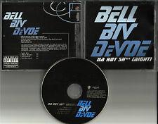 BELL BIV DEVOE Da Hot EDIT & INSTRUMENTAL PROMO DJ CD Single BOYZ II MEN boys