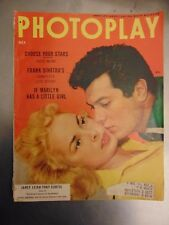 Janet Leigh Tony Curtis Marilyn Monroe Photoplay Oct 1954 #M7674
