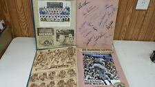 1982 BREWERS SCRAP BOOK 21 AUTOGRAPHS OVER 100 PAGES RARE! HISTORICAL ITEM!