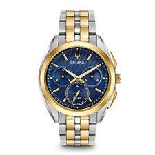 Bulova Men's Chronograph Watch Curv 98A159