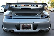 Porsche 911 996 Turbo C4S Rear bumper, Gemballa wing, LED Tail lights