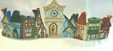 Blue Sky Clayworks Heather Goldminc 2004 Hanukkah Menorah Village - Rare