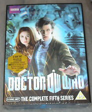 Dr Doctor Who - Complete Season Series Five 5 Lenticular DVD Box Set NEW SEALED
