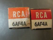 6AF4 RCA VACUUM TUBE, NEW IN BOX / NEW OLD STOCK, PRICE IS FOR 1 TUBE ONLY.