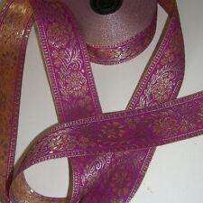 Borte in verschiedenen Farben, Sariborte, Orient-Bordüre, lfm,Band Bänder, Nähen