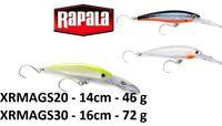 Rapala X-Rap® Magnum Single Hook Fishing Lure 12cm-16cm  32g-72g Various Colours