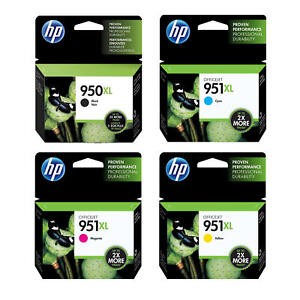 Genuine lot of HP 950XL & HP 951XL Ink Cartridges (C2P43AE) - FREE UK DELIVERY!