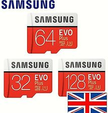 Samsung EVO Plus Micro SD Card 32GB 64GB 128 GB Class 10 SDHC SDHC Memory Card