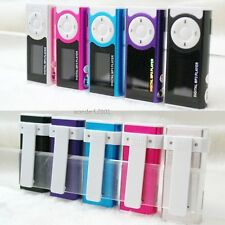 Mini Clip LCD MP3 Player Music Player w/ Flashlight Card Slot Support TF Card