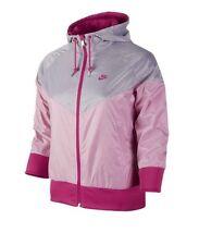 Brand New Nike Liberty Windrunner Women's Running Jacket - Pink/Grey - Small