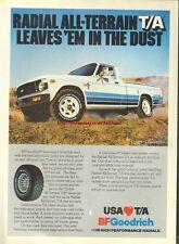 BFGoodrich All Terrain Tyres 1980 Magazine Advert #447