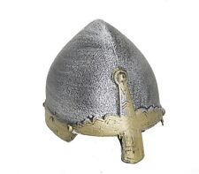 Child Medieval Viking Crusader Knight Helm Spangenhelm Helmet Bassinet Costume