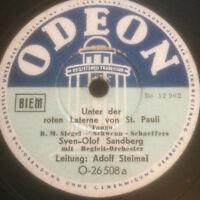 Sven-Olof Sandberg : Unter der roten Laterne von St. Pauli /// ...und wieder geh