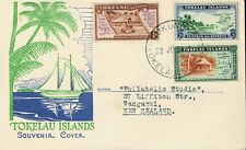 TOKELAU ISLANDS - 1948 FIRST DAY COVER - 3 STAMPS - W 272