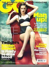 KRISTEN STEWART UK GQ Magazine 11/11 TWILIGHT BAREFOOT