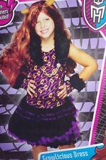 Monster High Growlicious Dress Clawdeen Wolf Halloween Costume Medium 6 8 NEW