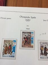 Sapporo Olympic Games 1972  Chad set 2