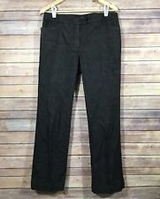 TALBOTS - Women's Jeans Signature Bootcut 6 Cotton Black Denim Dark Wash