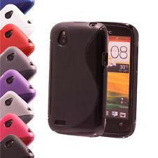 Schutzhülle HTC Silikon TPU Handyhülle Cover Case Hülle Tasche Bumper Backcover