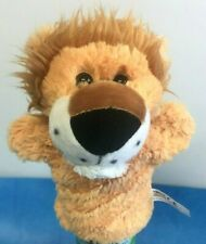 Cute Lion Hand Puppet Childrens Kids Tobar Safari Animal Soft Toy
