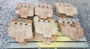 (5) John Deere/Black Cat 944K wheel loader cutting edges part# T1099081
