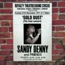 Gold Dust: Live at the Royalty by Sandy Denny (CD, May-1998, Island (Label))