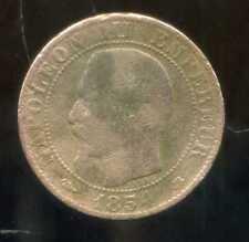 5 centimes NAPOLEON III 1854 BB  petite abeille ( 4 )