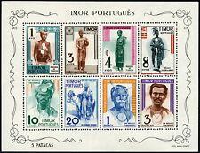 Timor 1948 Block 1 Einheimische Trachten Trad. Costumes Postfrisch MNH