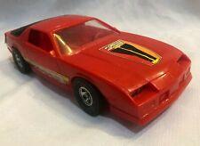 VINTAGE CAMARO Z28 RED PLASTIC TOY CAR by PROCESSED PLASTICS, No.9150  12