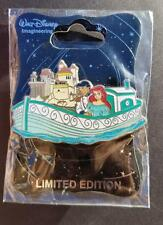 WDI Disney Storybook Canal Boats - Little Mermaid Ariel & Prince Eric LE 300 Pin