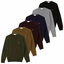 Wool Patternless Grey Jumpers & Cardigans for Men