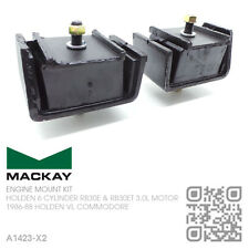 MACKAY ENGINE MOUNTS 6-CYL RB30E & RB30ET TURBO 3.0L [HOLDEN VL COMMODORE/BT1]