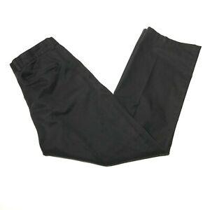 Nordstrom Chinos Pants Mens 36x32 Black Cotton Blend Business Casual Smartcare