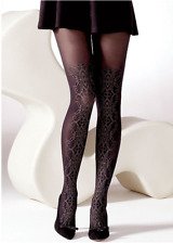 09c0066c31c Ornate Sparkle Front Opaque Tights