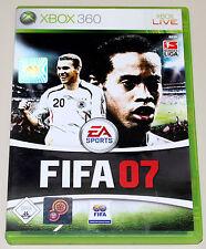 FIFA 07 - FÜR XBOX 360 - EA SPORTS FUSSBALL FOOTBALL SOCCER BUNDESLIGA 2007
