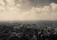 MEGA CITY NEW A3 CANVAS GICLEE ART PRINT POSTER