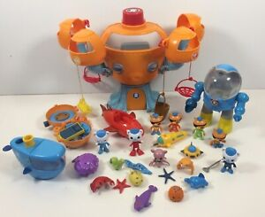 Octonauts Octopod Station Accessories Fisher Price  Sound Effects Octoalert
