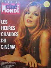 CINEMA MARIA LATOUR MICHELE MERCIER NEWMAN D AHETZE RONET N° 1716 CINEMONDE 1967