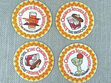 Vintage Jose cuervo tequila Coasters Beermat Beermat 60s 70s Job Lot x 4