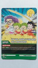 Carte Dragon ball Z Un vol pour le village des pingouins DB-862