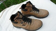 Propet Cliff Walker Mens Size 11 Brown Leather Hiking Boots