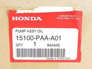 Genuine OEM Honda Acura 15100-PAA-A01 Engine Oil Pump