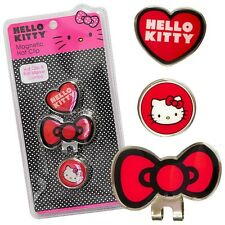 New Hello Kitty Hat Clip and Ball Marker - BOW