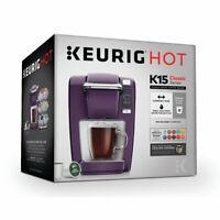 Keurig K-Mini K15 Single-Serve K-Cup Pod Coffee Maker NEW