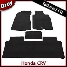 Honda CRV Manual (2002 2003 2004 2005 2006) Tailored Carpet Car Mats GREY